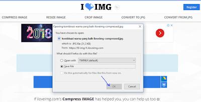 cara compress gambar secara online
