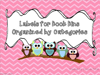 Organizing Book Bins in Your Classroom Library with tubs and bin labels