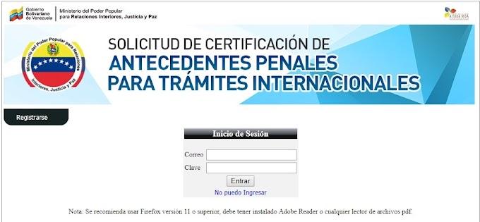 Sepa cómo  tramitar el Certificado de Antecedentes Penales necesario para emigrar