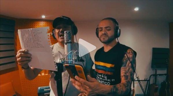 Silva y Nacho afinan sus voces para un nuevo tema