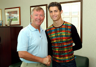 How Alex Ferguson signed C Ronaldo to Man United