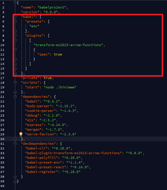 piki's blog: Babel, WebStorm, polyfill