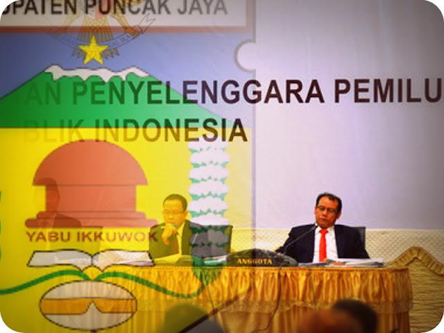 Komisi Pemilihan Umum Daerah (KPUD) Puncak Jaya Siap Digugat Hingga ke DKPP