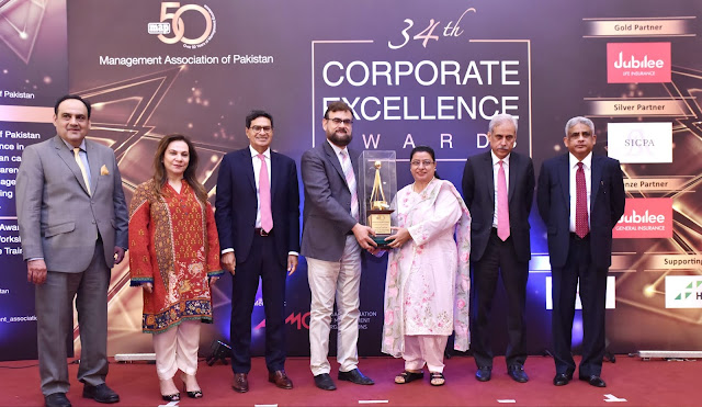 Jubilee Life Insurance  awarded with  top honor in Financial Sector category at MAP 34th Corporate Excellence Awards ceremony