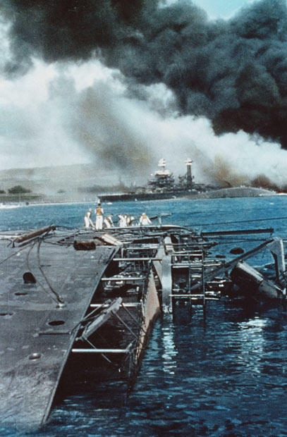 Pearl Harbor Color photos World War II worldwartwo.filminspector.com
