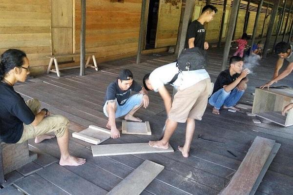 Lalau Mualang Gelar Baksos Di Sungai Antu Hulu