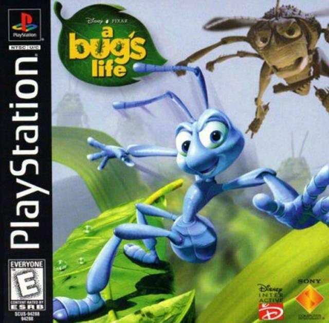 Download Game Disney A Bug's Life High Compressed PS1 | Batar Del Rey
