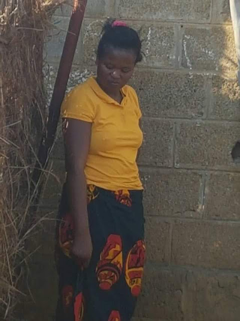 Graphic Photos: Police exhumes body of 9-year-old girl killed and buried by her stepmother in Zambia