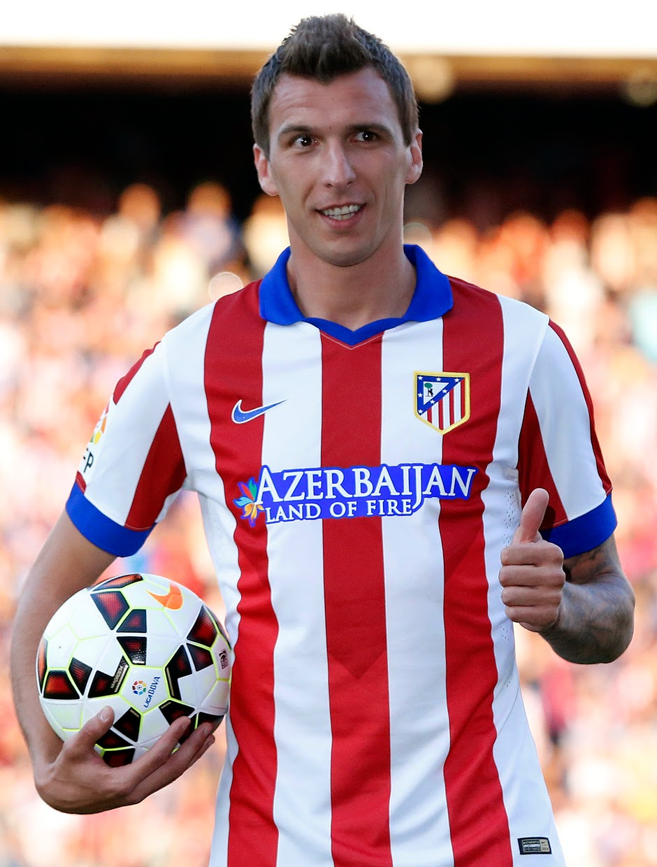Mario Mandzukic Atletico Madrid Player