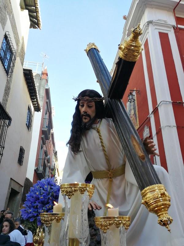 Traslado de Jesús de las Tres Caídas en Granada