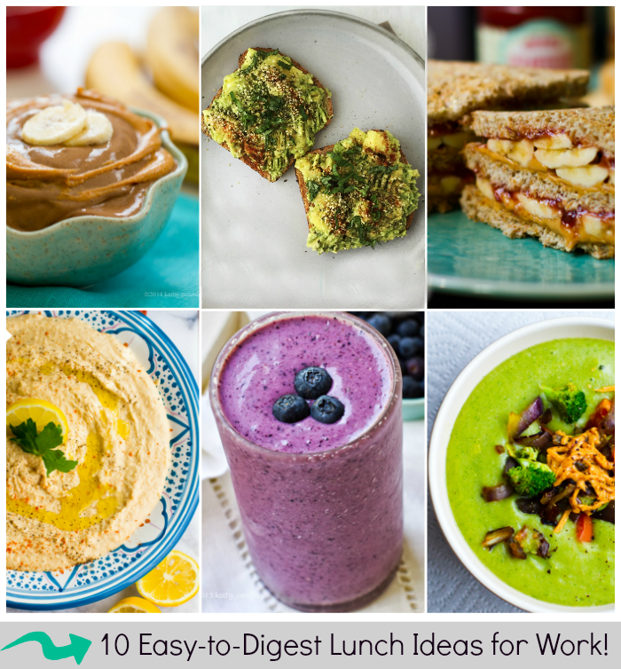 10 Easy-to-Digest Lunches To Bring To Work. Healthy, Happy