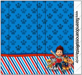 Etiquetas para Imprimir Gratis de Paw Patrol.