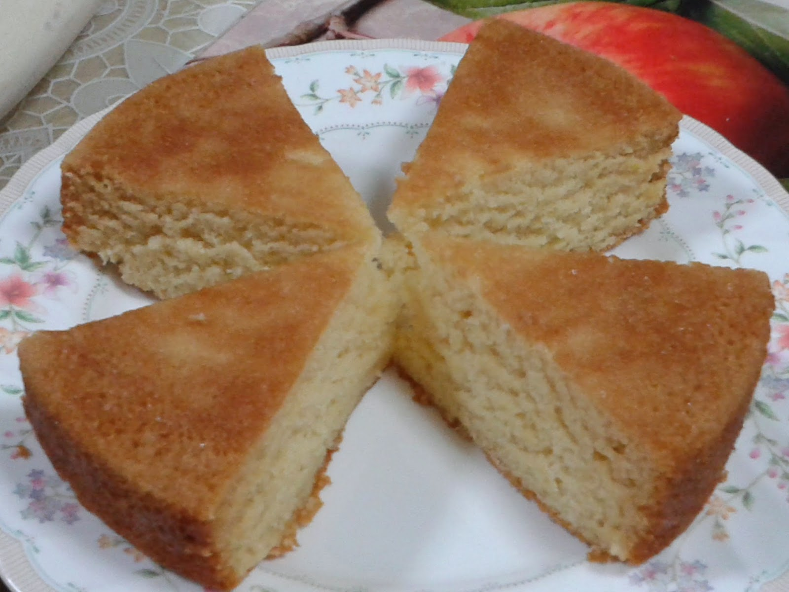 Cake Recipes In Microwave Oven With Convection: Malai Cake (Convection Mode In Microwave)
