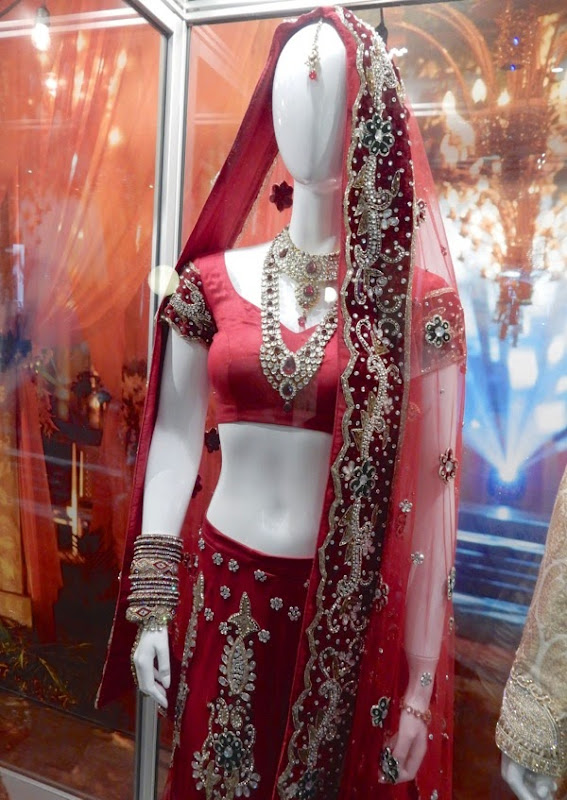 Second Best Exotic Marigold Hotel wedding sari