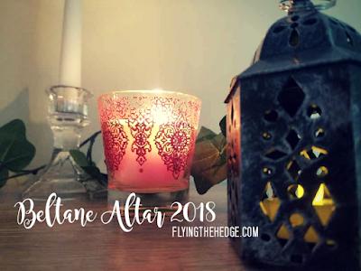Beltane Altar 2018