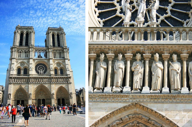 My Travel Background : #ParisPromenade : l'île de la Cité, Notre-Dame de Paris