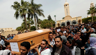 Egypt: Coptic Christians Forced to Hold Funeral in Street