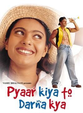 Poster Of Bollywood Movie Pyaar Kiya To Darna Kya (1998) 300MB Compressed Small Size Pc Movie Free Download worldfree4u.com