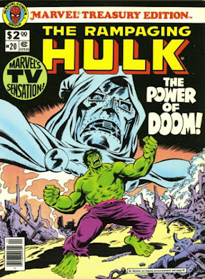 Marvel Treasury Edition #20, the Rampaging Hulk
