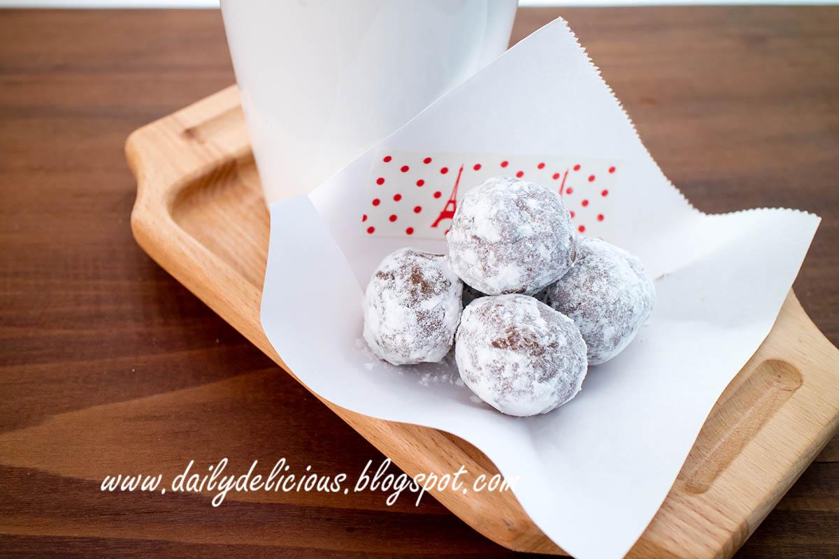 Chocolate Snowball Cake Recipe