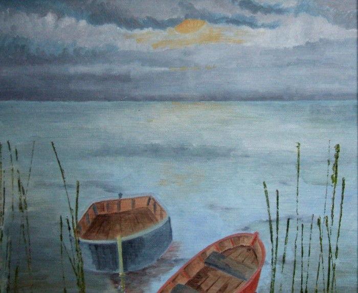 Британский художник. Maddalena Pacini