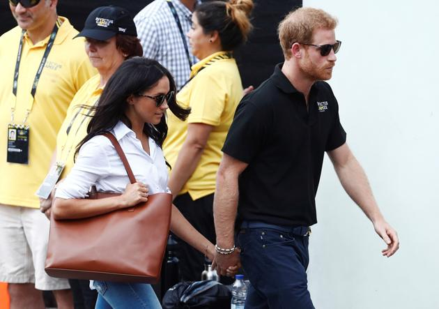 Photos: It?s Official! Prince Harry and Meghan Markle spotted holding hands at their first official event together in Toronto