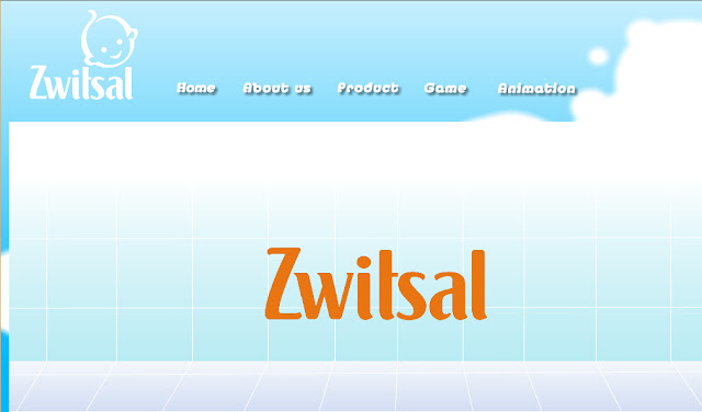 Gambar tampilan Media Interaktif Animasi Zwitsal dengan adobe flash cs 6