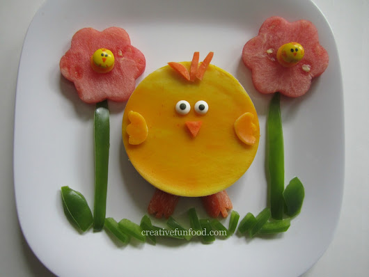 Creative Food: Baby Chick Lunch