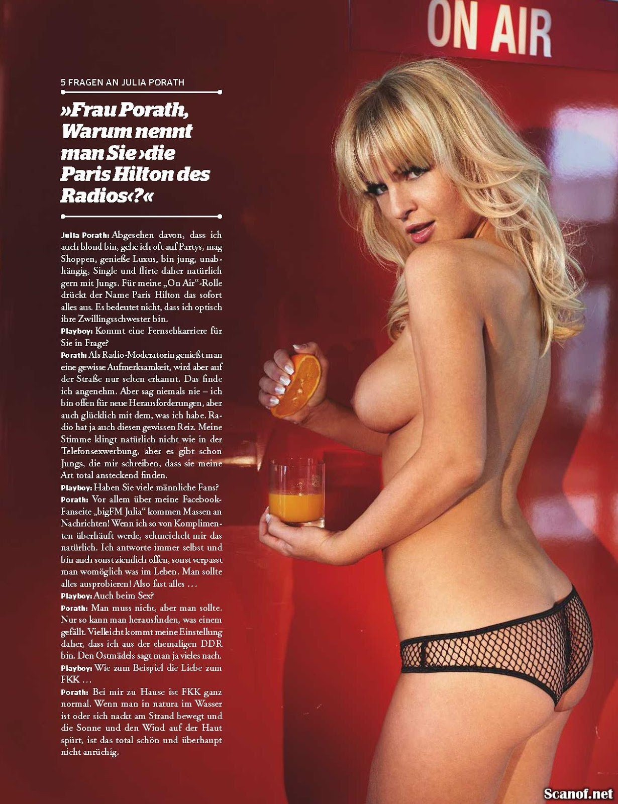 Nackt julia porath How to