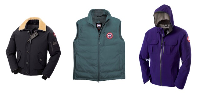 Exclusive Canada Goose Jackets