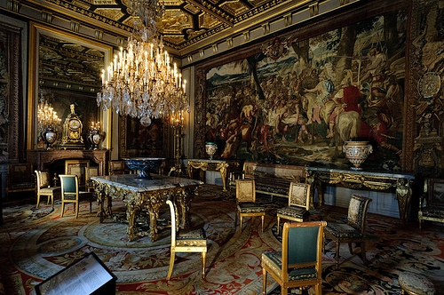 Eye For Design The Interiors of Chateau Fontainebleau