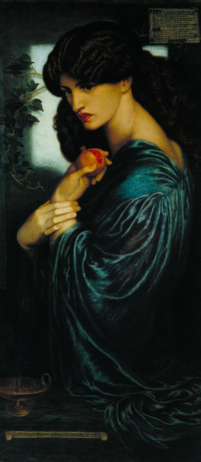 Prosperpine by Dante Gabriel Rossetti