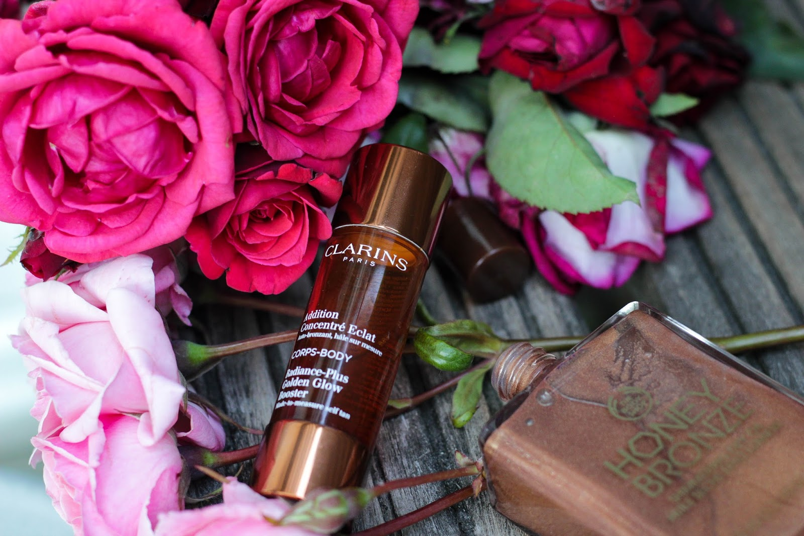 Body Shop Honey Bronze, Addition Concentré Eclat Clarins