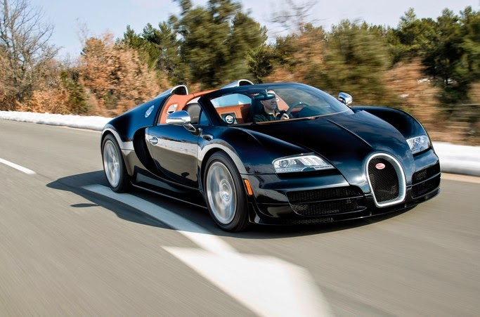 Gambar Mobil Termahal Di Dunia - Bugatti Veyron 16.4 Grand Sport Vitesse