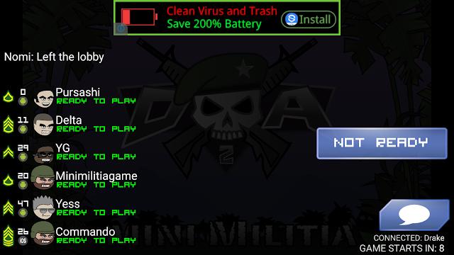 mini militia online game quick play