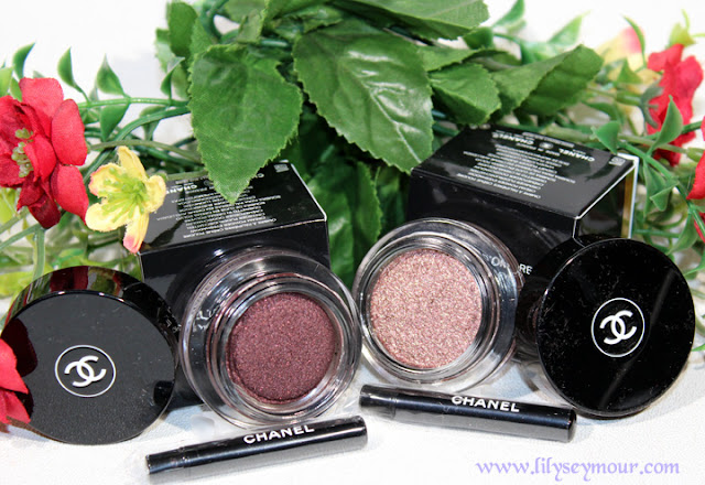Chanel Rouge Noir & New Moon Eyeshadows