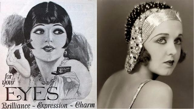 maquiagem de 1920