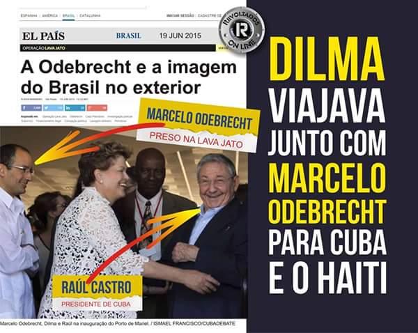 Resultado de imagem para foto da dilma com marcelo odebrecht
