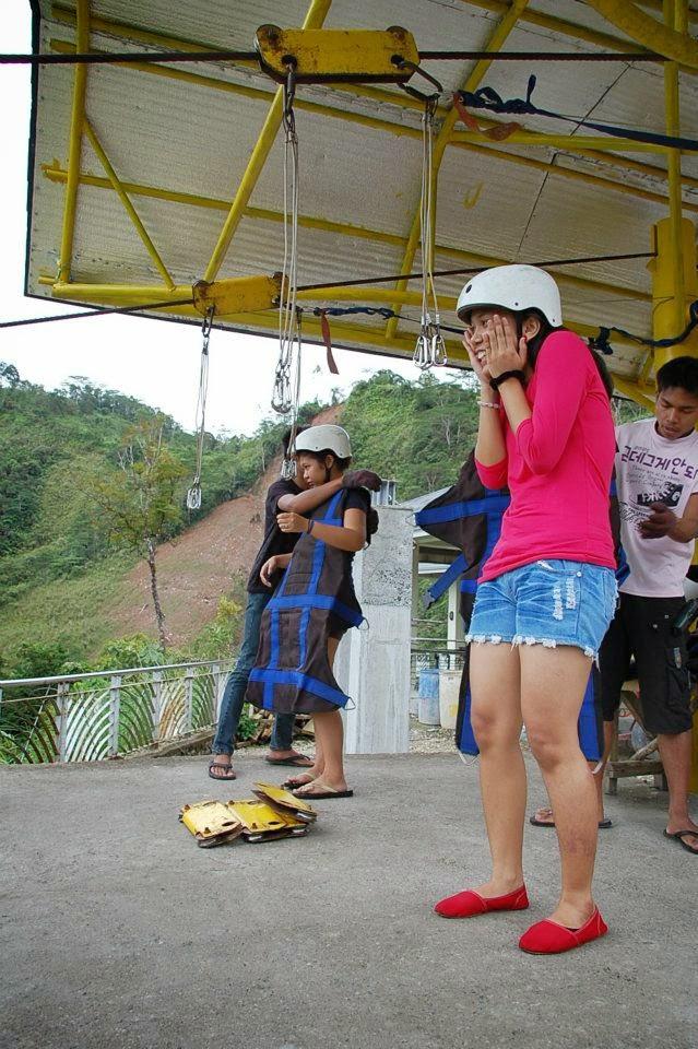 Adventures in Leyte ? Zipline at Agas Agas Bridge