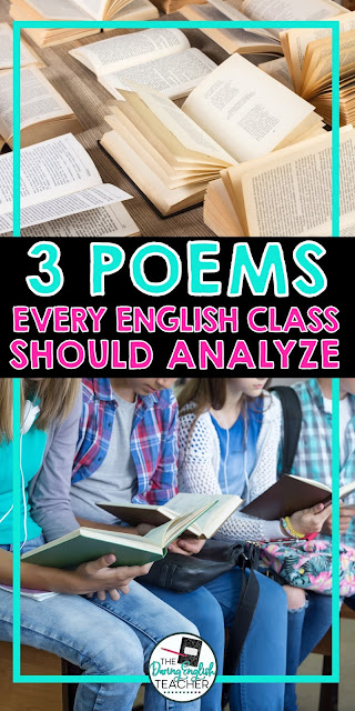 3 Poems Every English Class Should Analyze