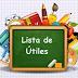 Lista de Utiles Escolares 2019-2020
