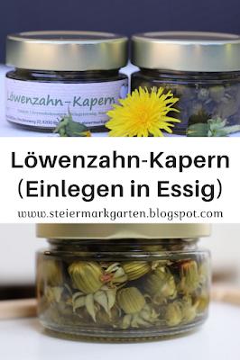 Löwenzahn-Kapern-Pin-Steiermarkgarten