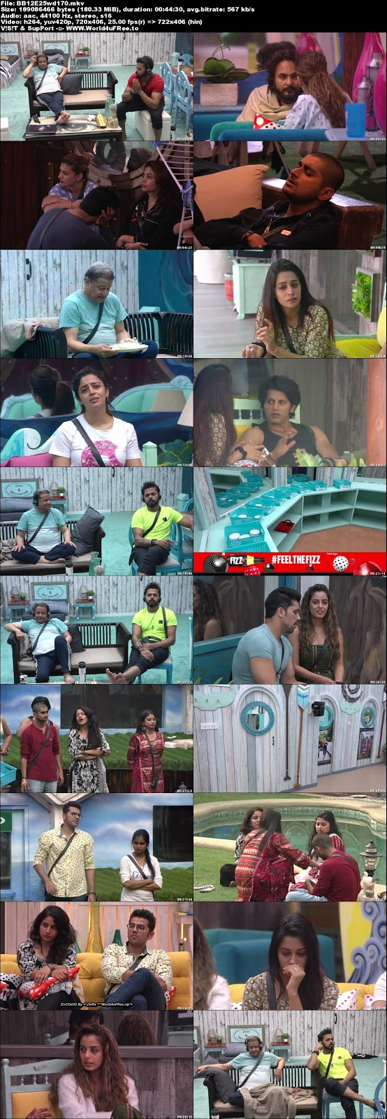 Bigg Boss 12 Episode 25 11 October 2018 WEBRip 480p Download world4ufree.vip tv show Episode 25 11 October 2018 world4ufree.vip 200mb 250mb 300mb compressed small size free download or watch online at world4ufree.vip