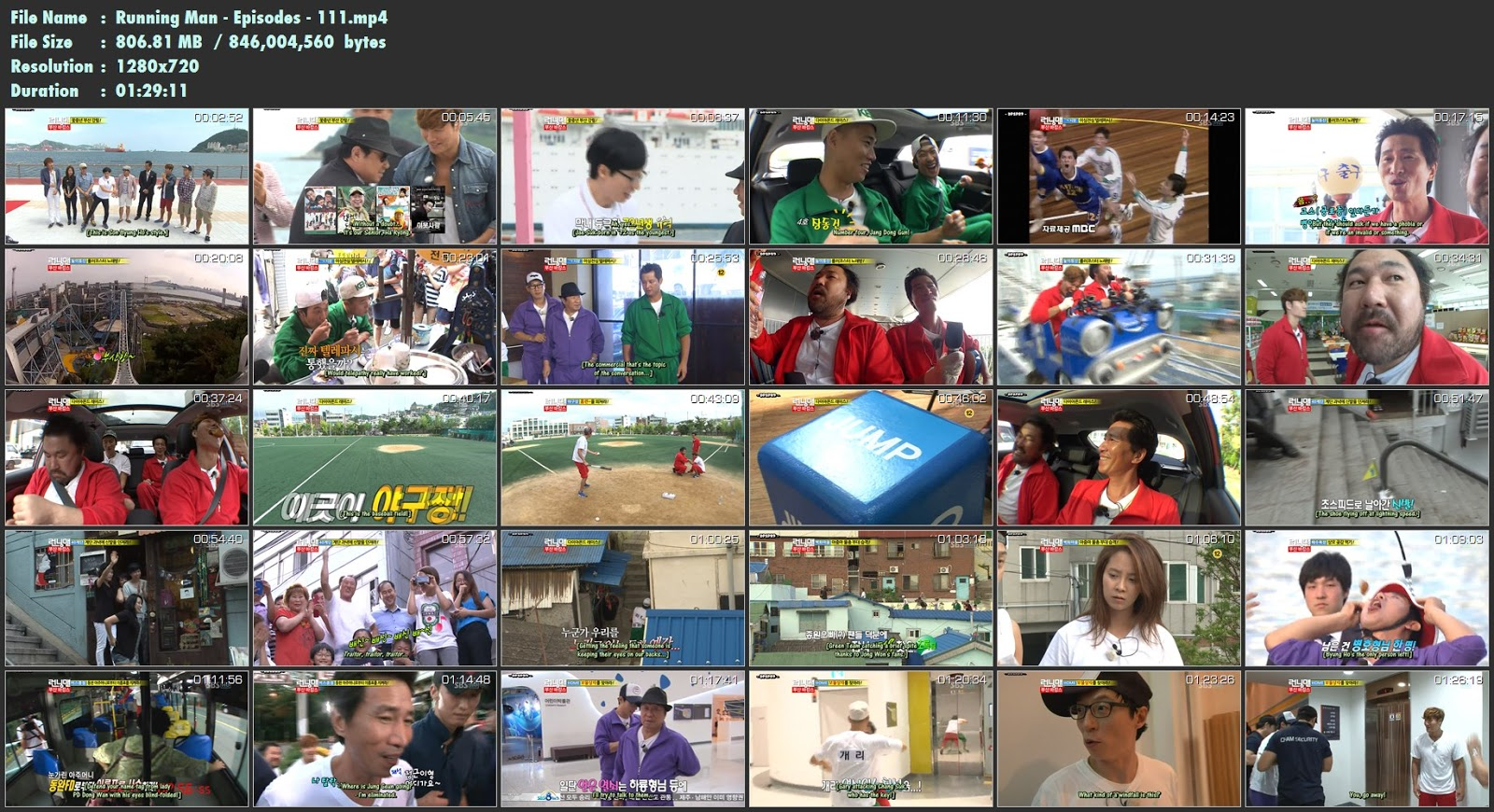running man 98 english subtitle