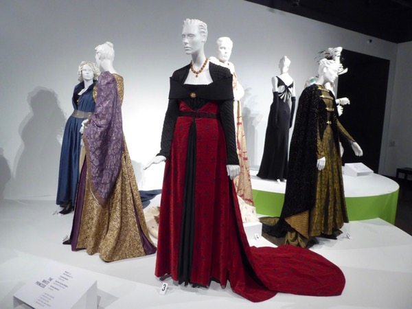 White Princess costume exhibit