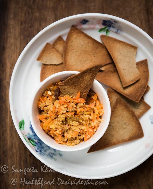 quinoa carrot salad