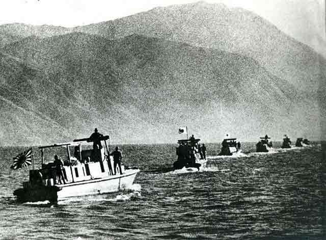 Japanese patrol boats off Hong Kong, 17 December 1941 worldwartwo.filminspector.com