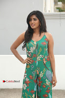 Actress Eesha Latest Pos in Green Floral Jumpsuit at Darshakudu Movie Teaser Launch .COM 0033.JPG