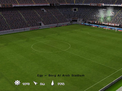 PES 6 Patch Arab Stars Season 2016/2017 + Stadium Pack