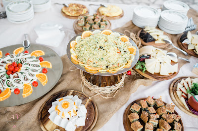 buffet matrimonio villa valente